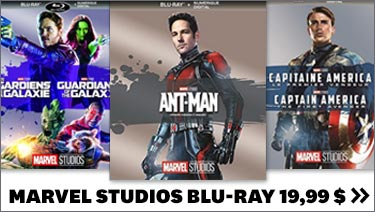 Marvel Studios Blu-Ray 19,99 $