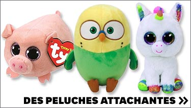 Des peluches attachantes